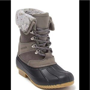 Tommy Hilfiger Rusteen Faux Fur Duck Boot, NWT, 5